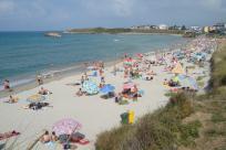 Vista de la playa de Altar