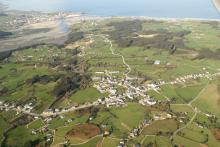 San Cosme - Vista aérea